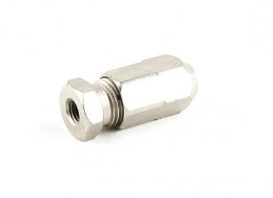 "Hobbyking ™ Edelstahl-Marine-Flexi-Schaft-Adapter 1/4 ""UNF-5mm"