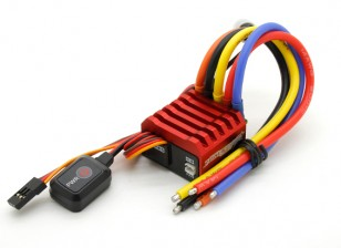 Track Sportler 60A 1/10-Skala Sensored Brushless Car ESC (ROAR approved)