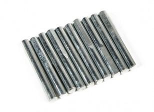Einfahren Pins für Haupffahrwerk 4mm (10 Stück pro Beutel)