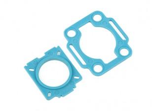 Hobbyking ™ Farb 250 Mobius / COMS Montageplatten (blau)