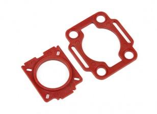 Hobbyking ™ Farb 250 Mobius / COMS Montageplatten (rot)