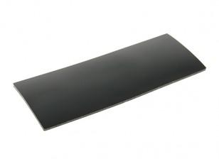 Batterie-Silikon-Anti-Rutsch-Matte 90x35x1.5mm (Schwarz)