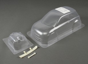 01.10 Super 1600 Swift Clear Body Shell (für M-Chassis)