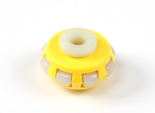 GD-03AT Omni-Directional Single Layer-Roboter-Rad 40mm / 10kg Rund Fitting