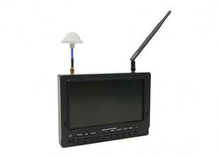 7 Zoll 800 x 480 40CH Diversity Empfänger Sun Lesbare FPV-Monitor Fieldview 777SB (UK Warehouse)
