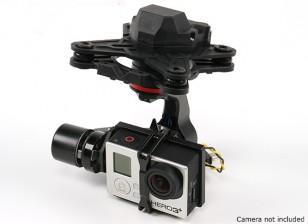 HMG YI3D 3-Achsen-Brushless Gimbal kompatibel mit GoPro Hero3 Art Action-Kamera