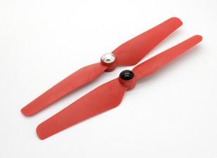 Selbstanzugs Propeller 6032 Rot (CW / CCW) (2 Stück)