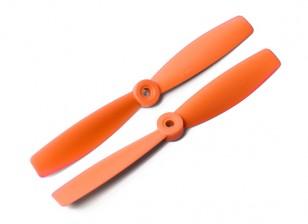 DYS Bull Nose Kunststoff Propellers T6045 (CW / CCW) (orange) (2 Stück)