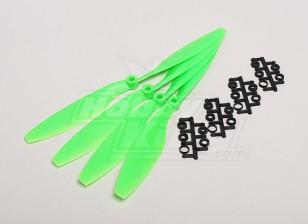 GWS Stil Slowfly Propeller 10x4.5 Green (CW) (4 Stück)