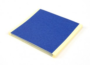 Turnigy Blau 3D-Drucker-Bett Bandblätter 85 x 85 mm (20pcs)