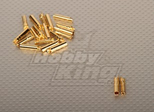 Polymax 4mm Gold-Stecker (10pairs / set)