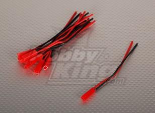 Männlich JST Batterie Pigtail 12cm Länge (10pcs / bag)