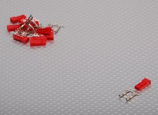 JST Female 2 Pin Stecker-Set (10pcs / set)