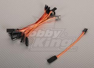 10CM Servokabel (JR) 32AWG Ultra Light (10pcs / bag)