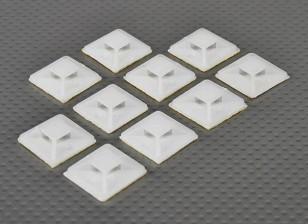 Kabelbinder Anker Selbstklebende Kleine Größe - 10pcs / bag