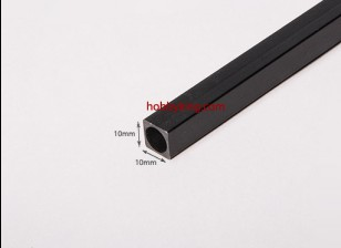 Carbon-Faser-Square Tube 750x10mm