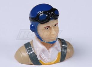 Parkfly klassische Ära Pilot (blau) (H37 x W40 x D22mm)