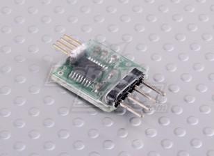 FrSky Telemetry Receiver USB / Seriell Blei-Schnittstelle aktualisieren
