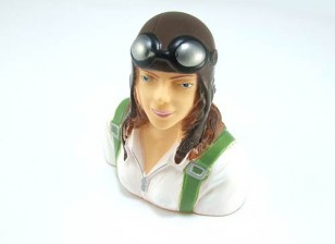 Pilot-Modell (Female) 1/6 (H73 x W63 x D35mm)