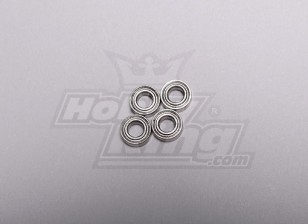 HK-250GT Ball Bearing 3.5 x 7 x 2.5mm (4pcs/set)