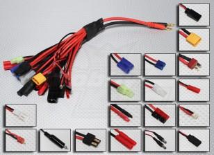 PLUG-KING Multi-19 Mega-Ladestecker-Adapter-Set