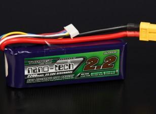 Turnigy Nano-Tech-2200mAh 4S 25 ~ 50C Lipo-Pack
