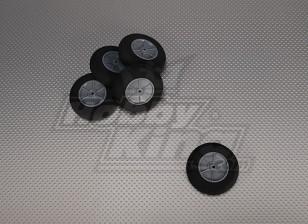 Licht-Schaum-Rad Diam: 60, Breite: 18,5 mm (5 Stück / bag)