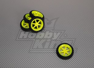 Super Light Multi-Speichen-Rad D50x13mm (5pcs / bag)