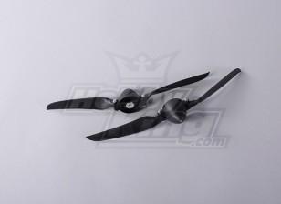 Faltpropeller W / Hub 45mm / 4mm Welle 11x6 (2 Stück)