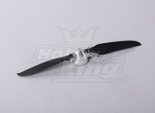 Faltpropeller W / Alloy Hub 35mm / 3mm Welle 9x5 (1pc)