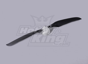 Faltpropeller W / Alloy Hub 40mm / 3mm Welle 11x6 (1pc)