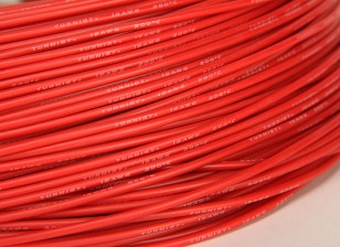 Turnigy Pure-Silikon-Draht 18AWG 1m (rot)