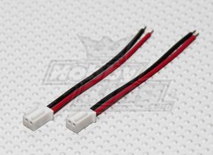Losi Mini-Stecker Pigtail - Batterie (2pcs / bag)