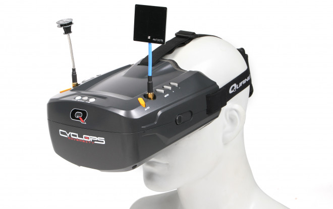 Quanum Cyclops Diversity DVR FPV   - RC Parts Banggood