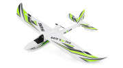 H-King Bixler 1.1 EPO 1400mm Glider (PNF) - top front view