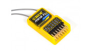 OrangeRx R618XL 6Ch 2.4GHz DSM2/DSMX Compatible Receiver w/PWM and CPPM and Long Antenna (Version 2)