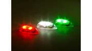 EasyLight Self Contained LED Flashing Light Set w/Battery (Red/Green/White) 2