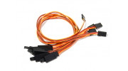 300mm Servo Lead Extension (JR) with Hook 26AWG (5pcs/bag)