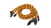 600mm Twisted Servo Lead Extension (JR) with Hook 22AWG (5pcs/bag)