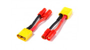 XT60 Male to HXT 3.5mm Male/Female Battery Adapter Compatible with Walkera QR X350 (2pcs)