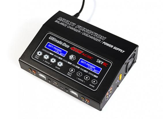 SKYRC Ultimate Duo 400W 20A AC/DC Balance Charger/Discharger/Power Supply (EU Plug)
