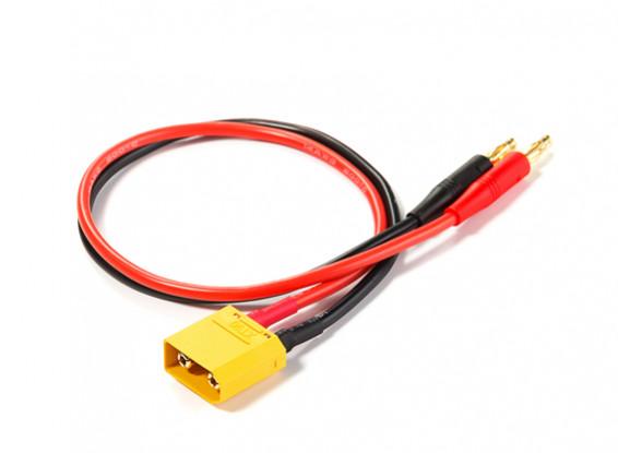 XT90 to 4mm Banana Plug Charge Lead