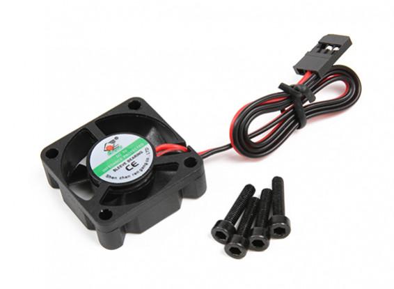 ventilador del motor (5V) M3x22 w / tornillo - Basher SaberTooth 1/8 Escala Truggy