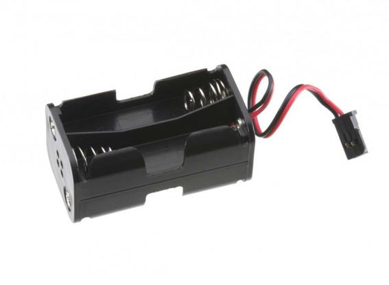 4 x titular de la batería del AA (Rx Pack)