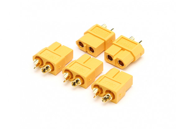 XT60 Genuine Female Connector (5pcs)