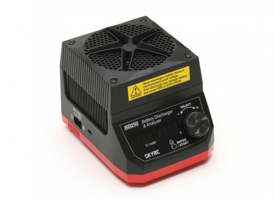 SKYRC BD250 250W 35A Super Discharger & Battery Analyzer