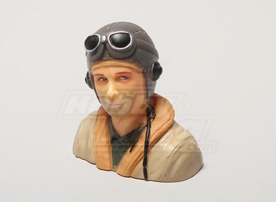 WW2 / clásico de la era piloto (H64 x W66 x D35mm)