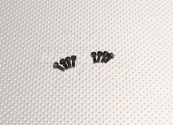 CNC servo Perno M3.0x8 Negro