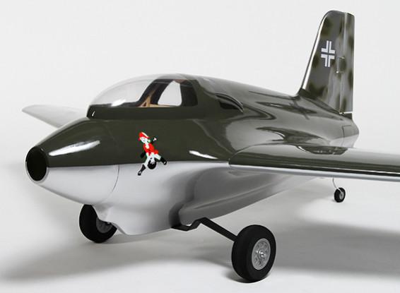 Messerchmitt Me 163B ala de vuelo compuesto 1540mm (ARF)