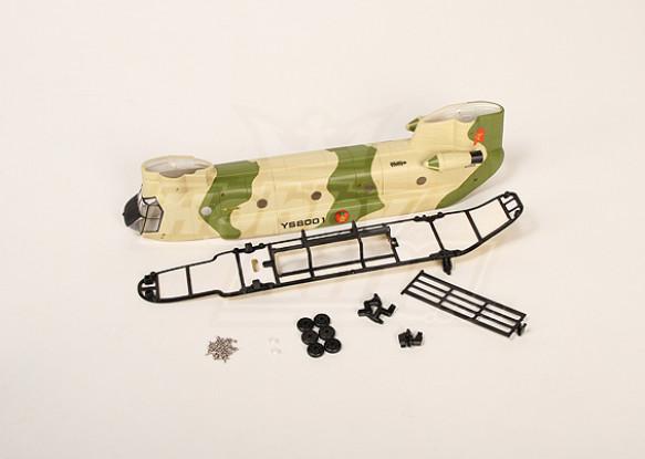 Walkera YS8001 fuselaje Conjunto (verde)